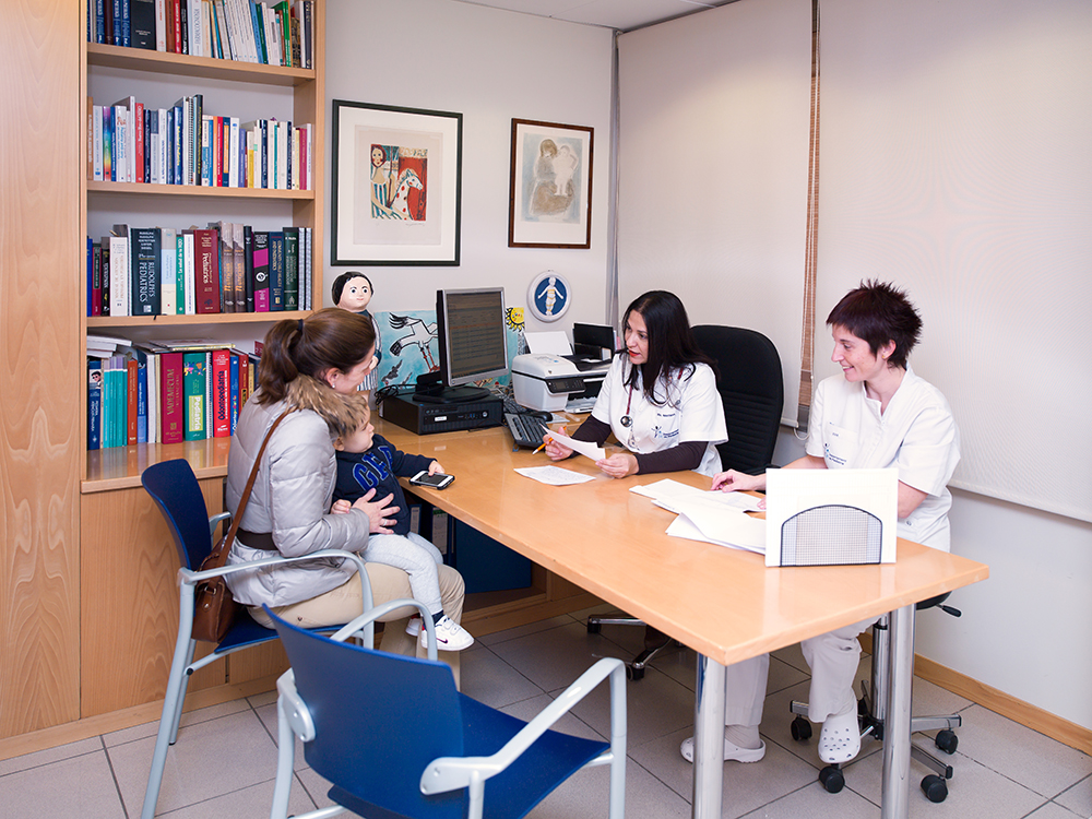 Consulta pediatrica ambulatoria. Consulta2