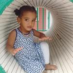 Sofia, de 2 anys, va néixer a les 27 setmanes de g